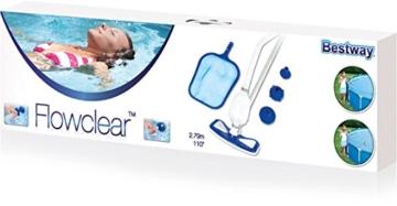 Bestway Pool - Reinigungs Set Vakuum-Sauger und Kescher -