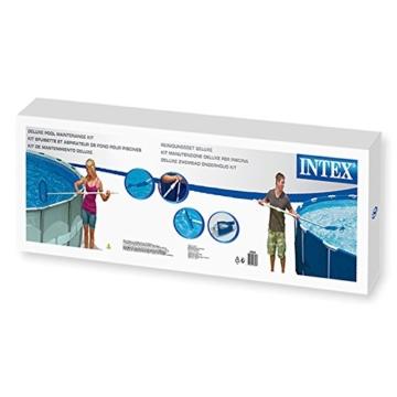 Intex Pool Reinigungsset mit Kescher, Bodensauger und Teleskopstange, mehrfarbig, 5-teilig -
